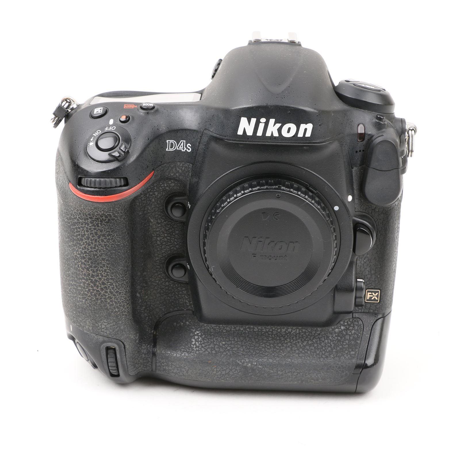 Image of Used Nikon D4s Digital SLR Camera Body