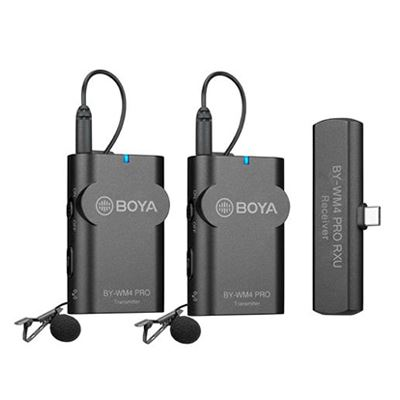 Image of Boya Wireless Microphone Kit for Android devices 1+2