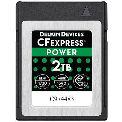 Delkin 2TB 1730x Cfexpress POWER Memory Card