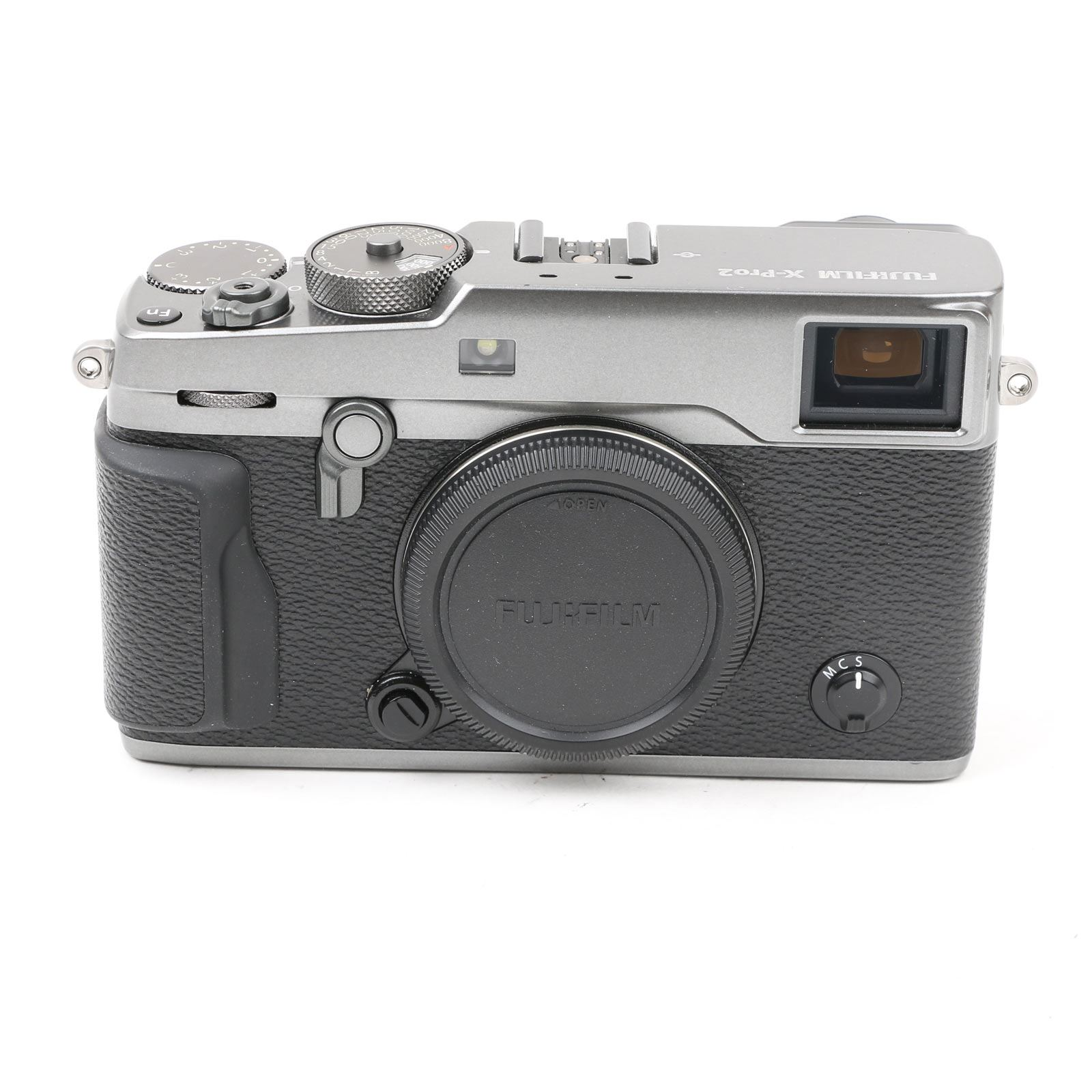 Image of Used Fujifilm X-Pro2 Digital Camera Body with XF23mm F2 Lens - Graphite Silver