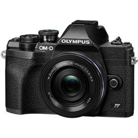 Olympus OM-D E-M10 Mark IV Digital Camera with 14-42mm lens - Black