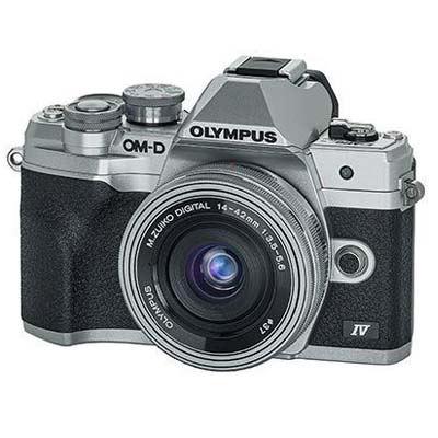 Used Olympus OM-D E-M10 Mark IV Digital Camera with 14-42mm lens - Silver