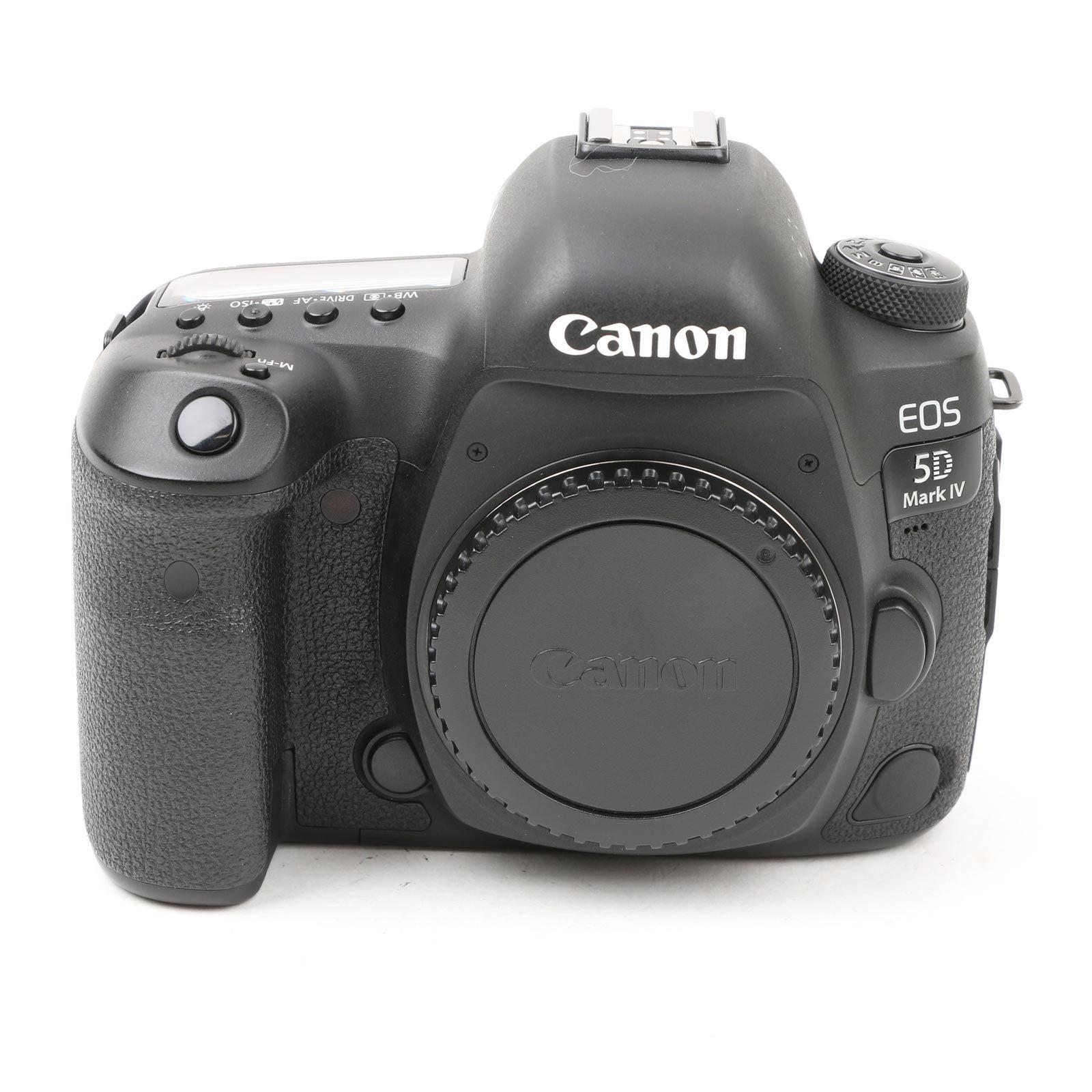 Image of Used Canon EOS 5D Mark IV Digital SLR Camera Body