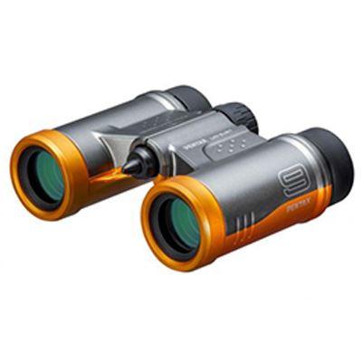 Pentax 9x21 UD Binoculars - Grey Orange