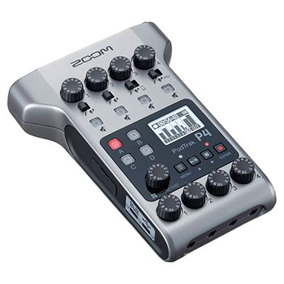 Image of Zoom PodTrak P4 Podcast Recorder