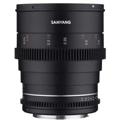 Samyang 24mm T1.5 VDSLR II Lens - Sony FE Fit