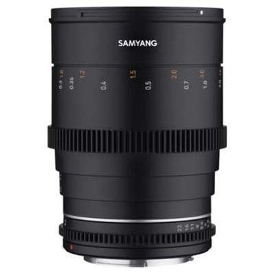 Image of Samyang 35mm T1.5 VDSLR II Lens - Canon M Fit