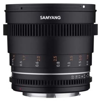 Samyang 50mm T1.5 VDSLR II Lens - Micro Four Thirds Fit