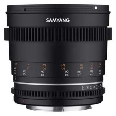 Samyang 50mm T1.5 VDSLR II Lens - Fujifilm X Mount