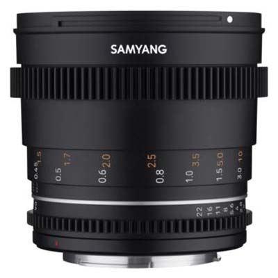 Samyang 50mm T1.5 VDSLR II Lens - Canon M Fit