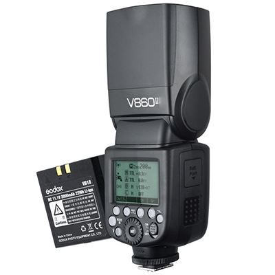 Godox V860II-O Flashgun for Olympus / Panasonic + Battery