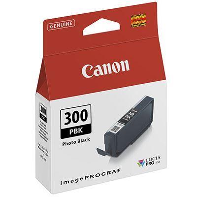 Image of Canon PFI-300 Photo Black Ink