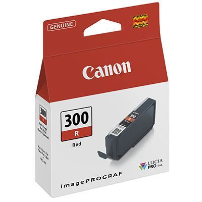 Image of Canon PFI-300 Red Ink