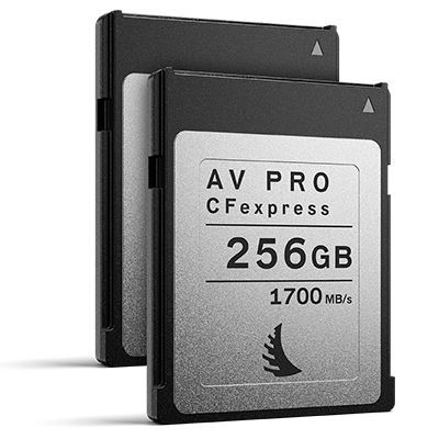 Angelbird 256GB 1700MB/Sec AV PRO CFexpress (Type-B) - 2 Pack