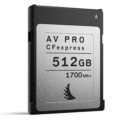 Angelbird 512GB 1700MB/Sec AV PRO CFexpress (Type-B)