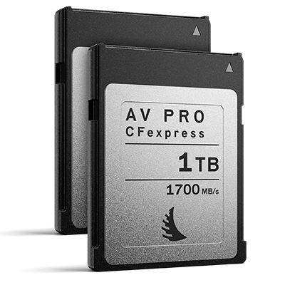 Angelbird 1TB 1700MB/Sec AV PRO CFexpress (Type-B) - 2 Pack
