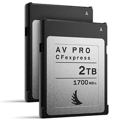 Angelbird 2TB 1700MB/Sec AV PRO CFexpress (Type-B) - 2 Pack