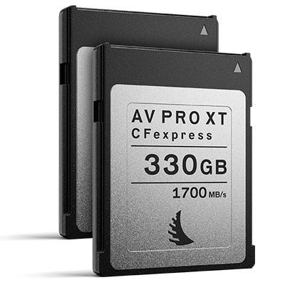 Image of Angelbird 330GB 1700MB/Sec AV PRO CFexpress XT (Type-B) - 2 Pack