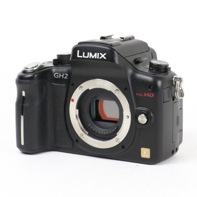 Used Panasonic LUMIX DMC-GH2 Black Digital Camera