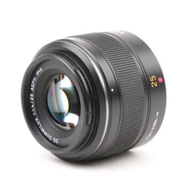 Used Panasonic 25mm f1.4 Leica DG Summilux Micro Four Thirds lens