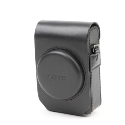 Used Sony LCS-RXG Soft Carrying Case for RX100 series cameras