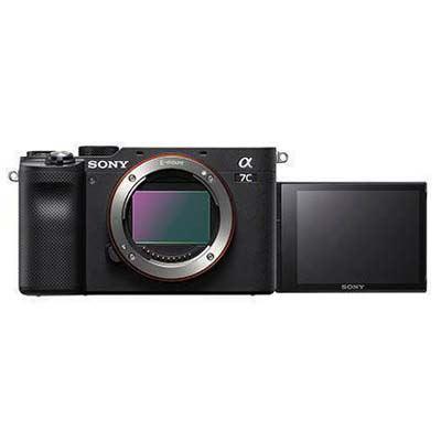 Sony A7C Digital Camera Body - Black