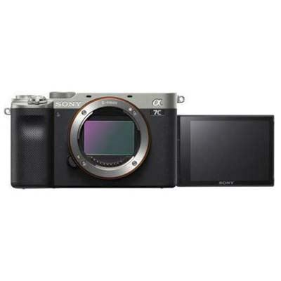 Sony A7C Digital Camera Body - Silver