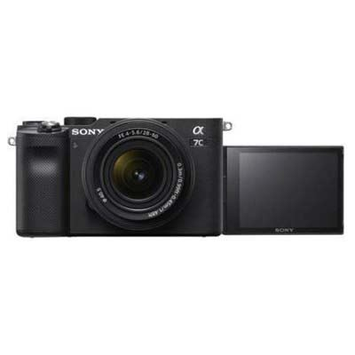 Sony A7C Digital Camera with 28-60mm lens - Black