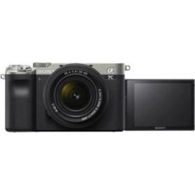 Sony A7C Digital Camera with 28-60mm lens - Silver