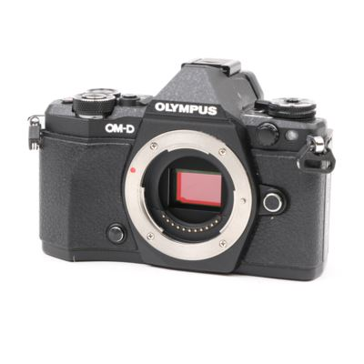 Used Olympus OM-D E-M5 Mark II Digital Camera Body - Black