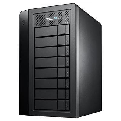 Image of Promise Pegasus32 Thunderbolt 3 Desktop RAID (4TB x 8)