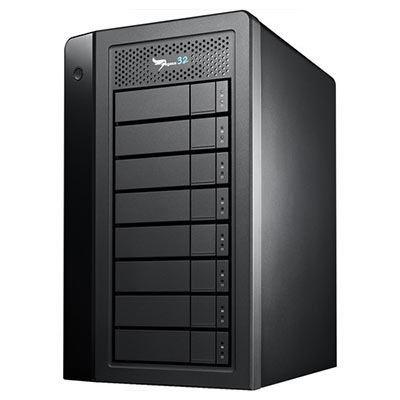 Image of Promise Pegasus32 Thunderbolt 3 Desktop RAID (10TB x 8)