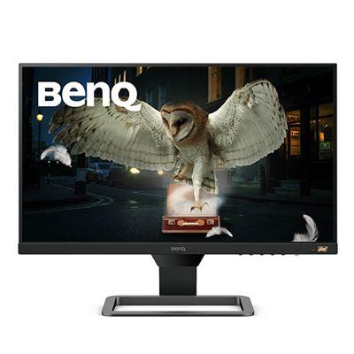 Image of BenQ EW2480 23.8 Inch IPS Monitor - Metallic Grey