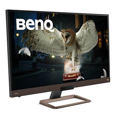 Image of BenQ EW3280U 32 Inch Monitor - Metallic Grey