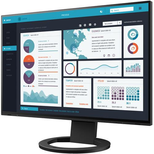 Image of EIZO FlexScan EV2795 27 inch Monitor - Black