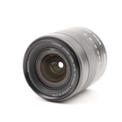 Used Canon EF-M 18-55mm f3.5-5.6 STM IS M-Mount Lens