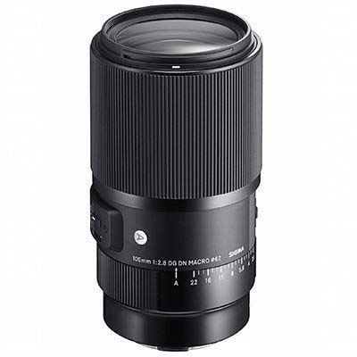 Image of Sigma 105mm f2.8 Macro DG DN Art Lens - Sony E Fit