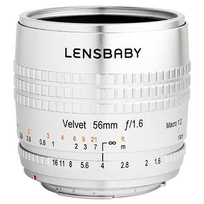 Lensbaby Velvet 56mm f1.6 Lens - Nikon F Fit - Silver