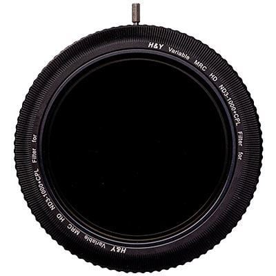 Image of H&Y REVORING 58-77mm VND ND3-ND1000 and Circular Polariser Filter
