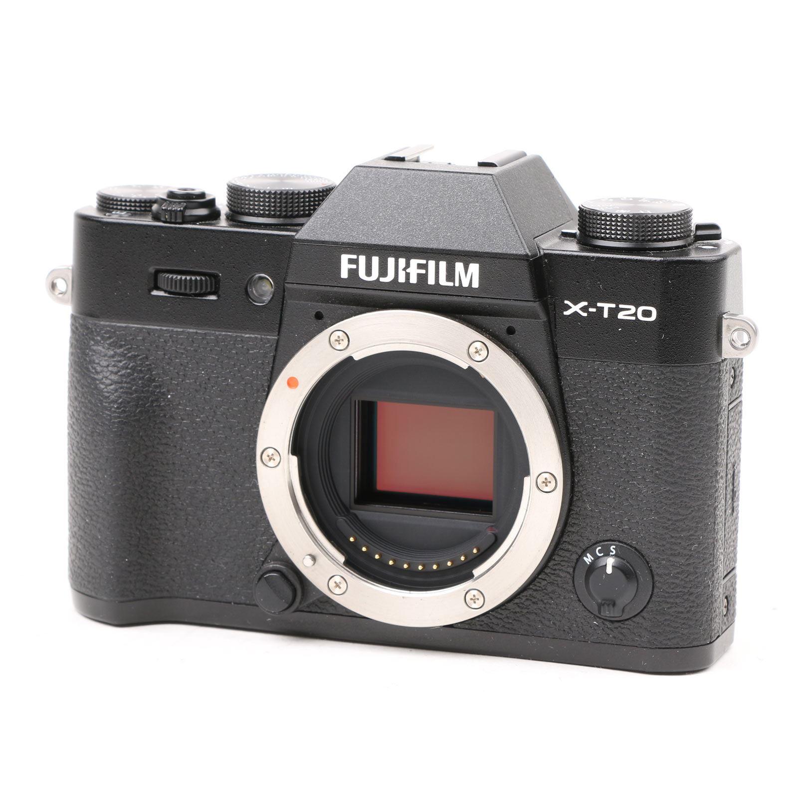 Image of Used Fujifilm X-T20 Digital Camera Body - Black