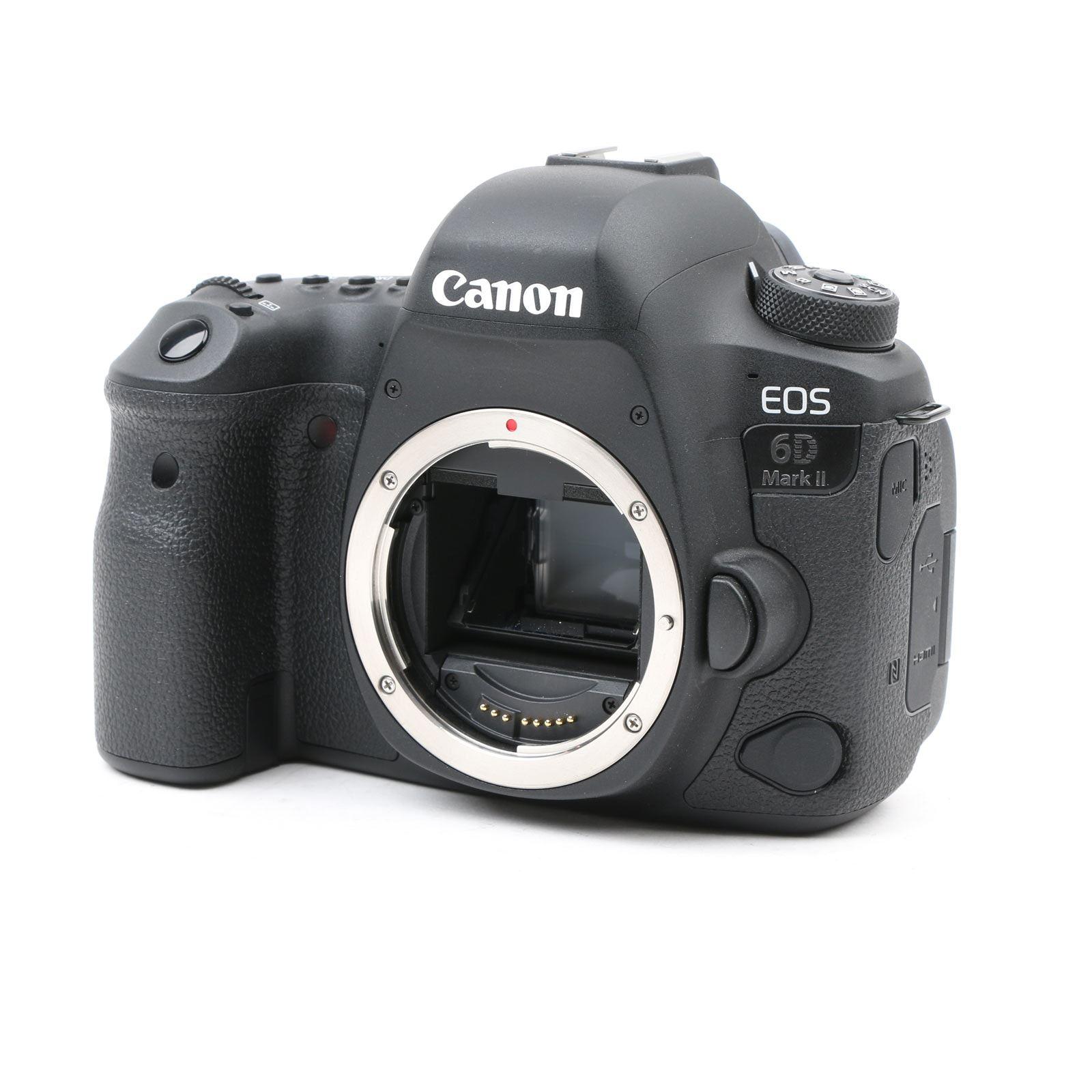 Image of Used Canon EOS 6D Mark II Digital SLR Camera Body