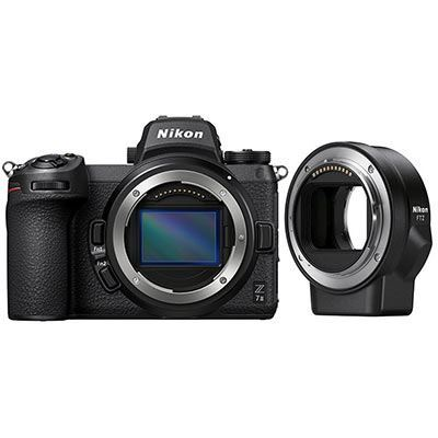 Nikon Z7 II Digital Camera with FTZ Mount Adapter