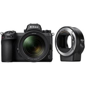 Nikon Z7 II Digital Camera with 24-70mm f4 lens and FTZ Adapter