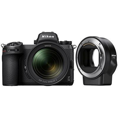 Nikon Z6 II Digital Camera with 24-70mm f4 lens and FTZ Adapter