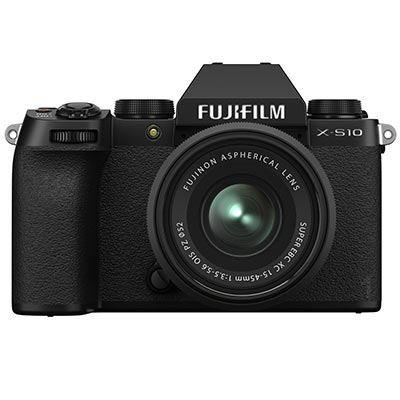 Image of Fujifilm X-S10 Digital Camera with XC 15-45mm lens