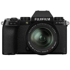 Fujifilm X-S10 Digital Camera with XF 18-55mm lens