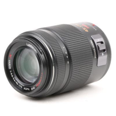 Used Panasonic 45-175mm f4.0-5.6 LUMIX G X Vario Micro Four Thirds Lens