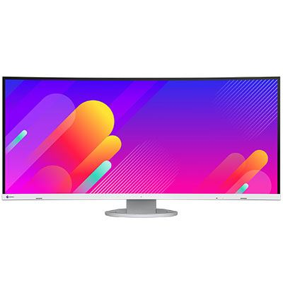 Image of EIZO Flexscan EV3895 38 Inch Curved Monitor - White