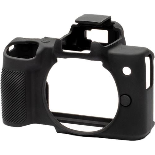Easy Cover Silicone Skin for Canon EOS M50 Black