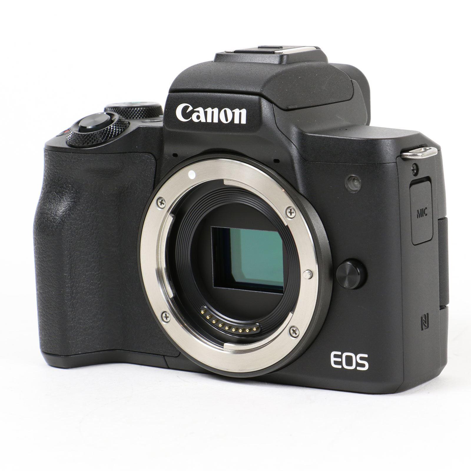 Image of Used Canon EOS M50 Digital Camera Body - Black